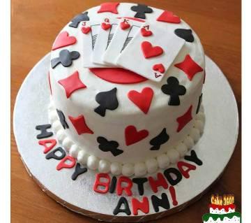 HBD002 - Game Cake
