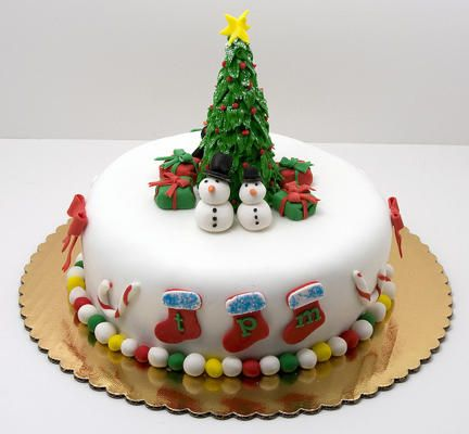 CHR014 - Christmas Cake