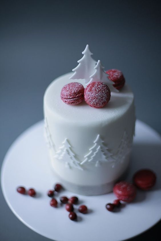 CHR015 - Christmas Cake