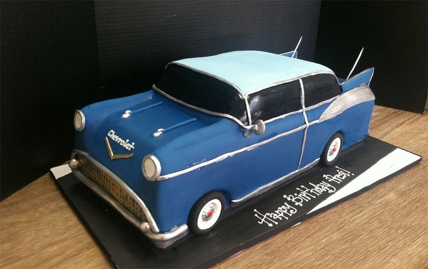 CAR004 - Car Theme Cake