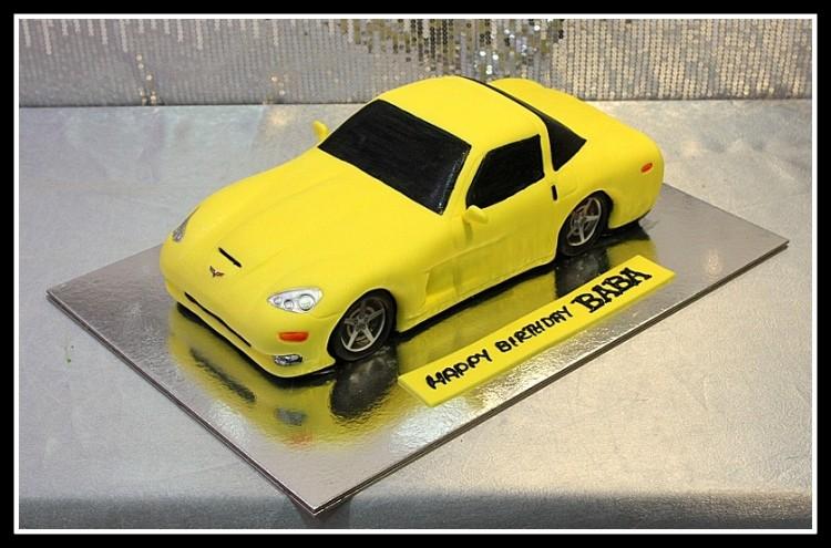 CAR006 - Car Theme Cake