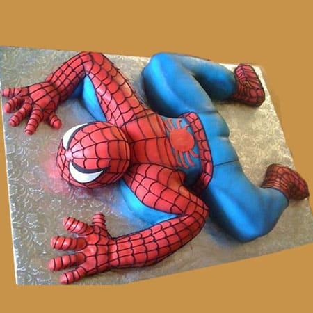 SPD009 - Mind-Blowing Spiderman Cake