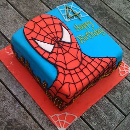 SPD019 - Talented Spiderman Cake
