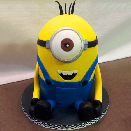 MIN002 - Beautiful Minion Cake