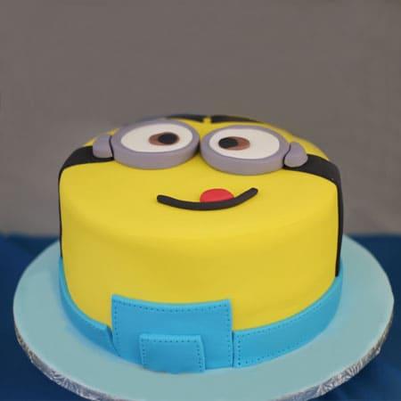 MIN004 - Crazy Minion Cake