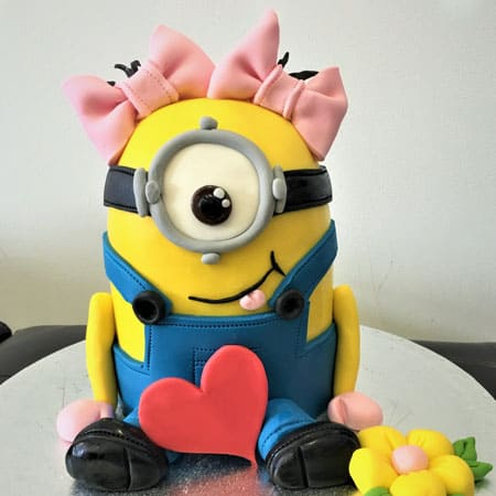 MIN013 -  Minion Cake