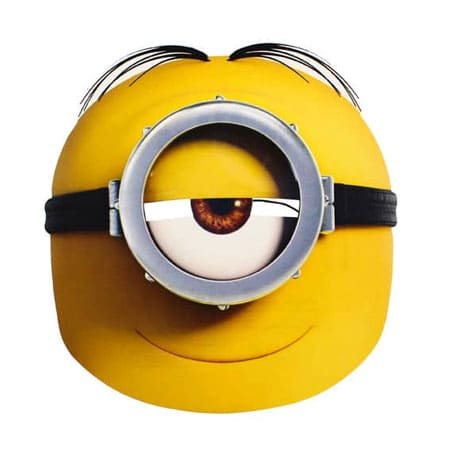 MIN019 - One Eye Minion Fondant Cake