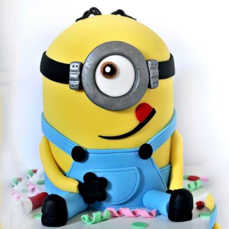 Super Min023 Tantalizing Minion Cake Minion Cake Cake Delivery In Funny Birthday Cards Online Aeocydamsfinfo