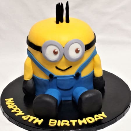 MIN024 -  Wicked Minion Cake