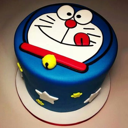 CRT002 -  Doraemon Cartoon Cake
