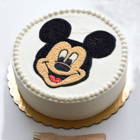 MIC001 - Adorable Mickey Mouse Cake