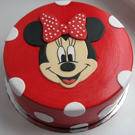MIC003 -  Charming Mickey Mouse Cake