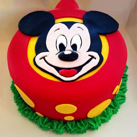 MIC004 - Cute Mickey Mouse Cake