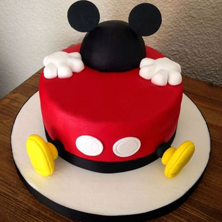 MIC006 - Delightful Mickey Mouse Cake