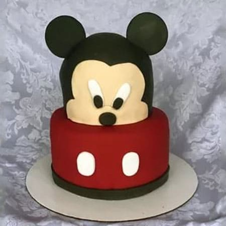 MIC010 -  Playful Mickey – Mouse Cake