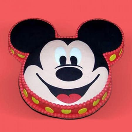 MIC011 -  Tantalizing Mickey Mouse Cake