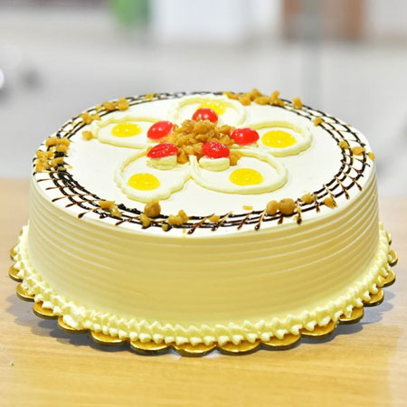 BTS006 - Elegant Butterscotch Cake