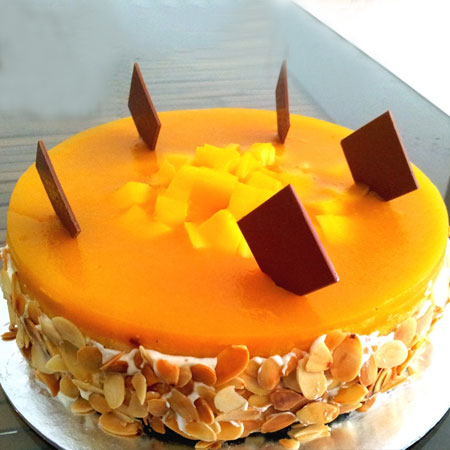 MNG001 -  Aromatic Mango Cake