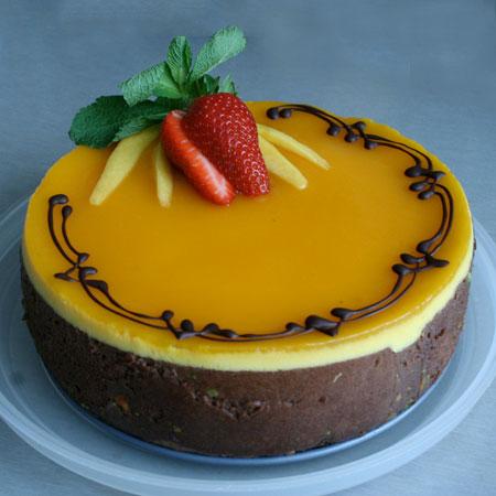 MNG002 - Delicious Mango Cake