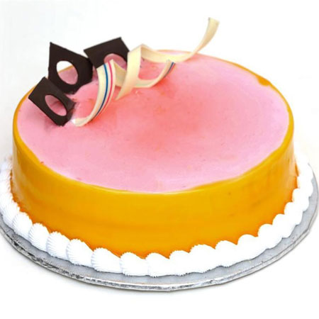 MNG012 -  Strawberry Mix Mango Cake