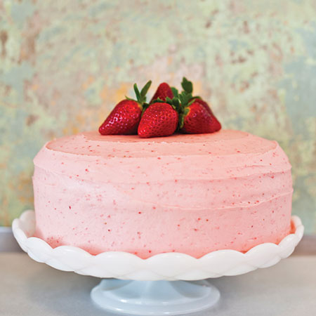 STR007 - Mesmeric Strawberry Cake