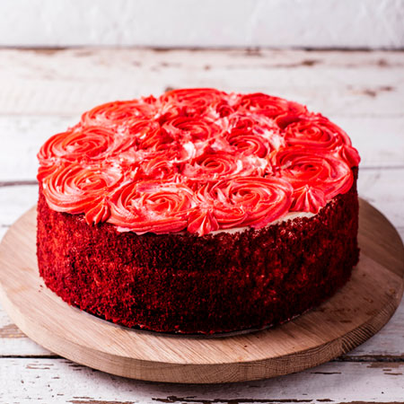 RDV002 - Glowing Red Velvet Cake