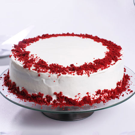 RDV005 -  Romantic Red Velvet Cake