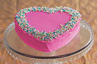 VAL012 - Valentine day Special Cake