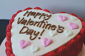 VAL014 - Valentine Day Love Cake
