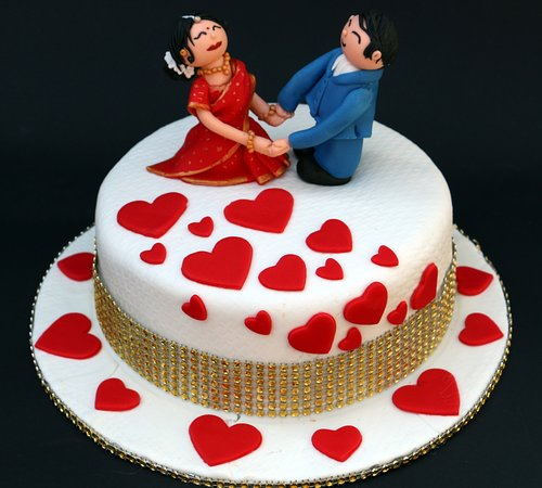 VAL018 - Valentine Day Love Cake