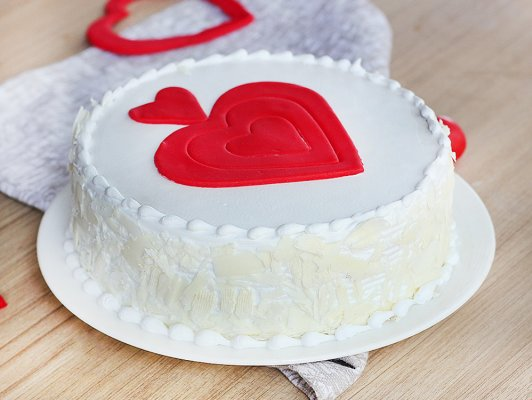 VAL026 - Valentine Day Love Cake
