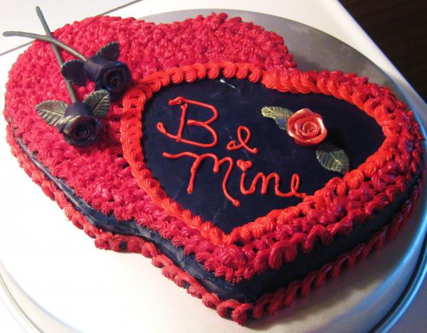 VAL029 - Valentine Day Love Cake