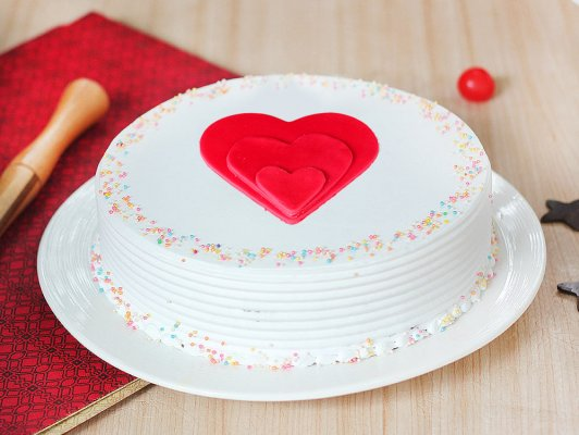 VAL031 - Valentine Day Love Cake