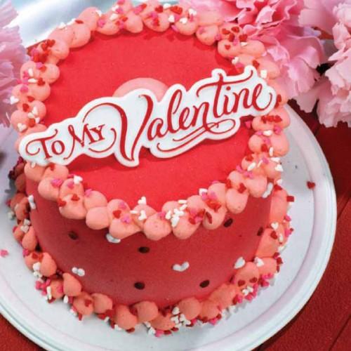 Sensational Val038 Valentine Day Cake Valentine Day Cake Delivery In Birthday Cards Printable Inklcafe Filternl