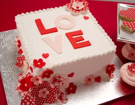 VAL042 - Valentine Day Cake