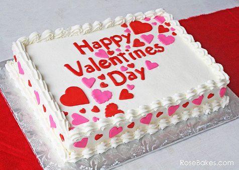 VAL061 - Valentine day Special Cake
