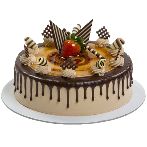 PRM034 - Rich Chocolate with Caramel Garnish