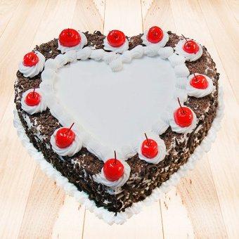 VAL089 - Valentine day Heart Cake