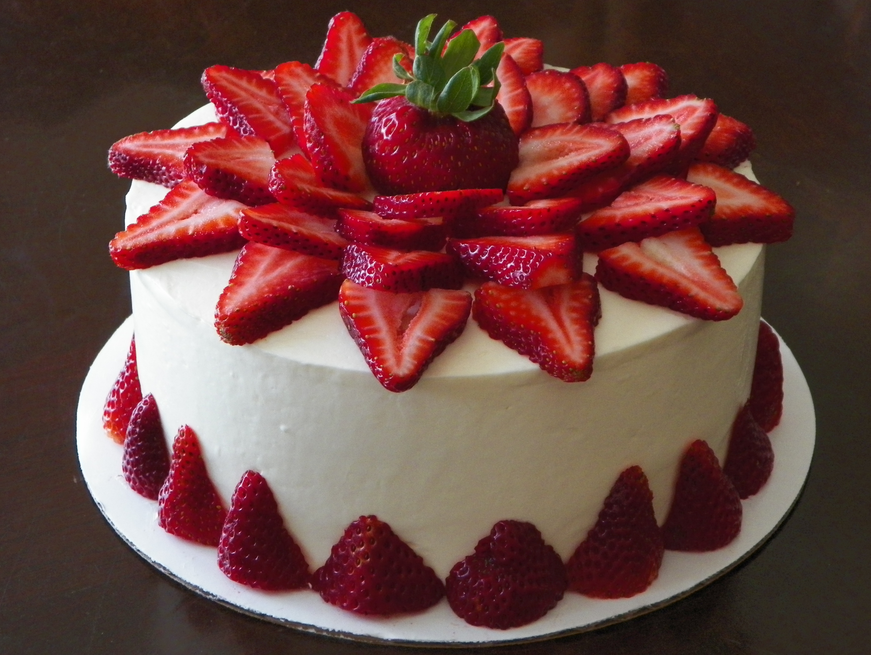 STR016 - strawberry cake