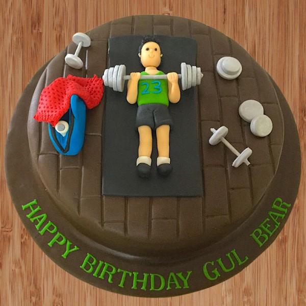 THM006 - Fitness Theme Cake