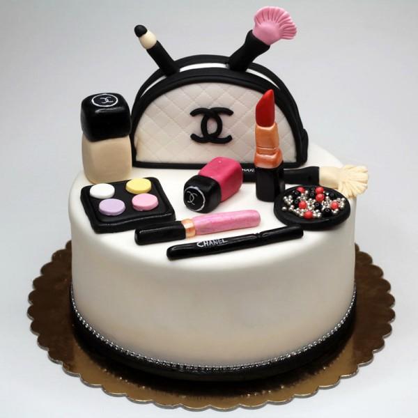 THM007 - Makeup Theme Cake