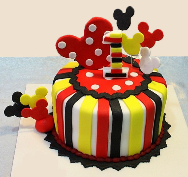 MIC013 - Mickey Mouse House | Mickey Mouse Cake | Cake Delivery in