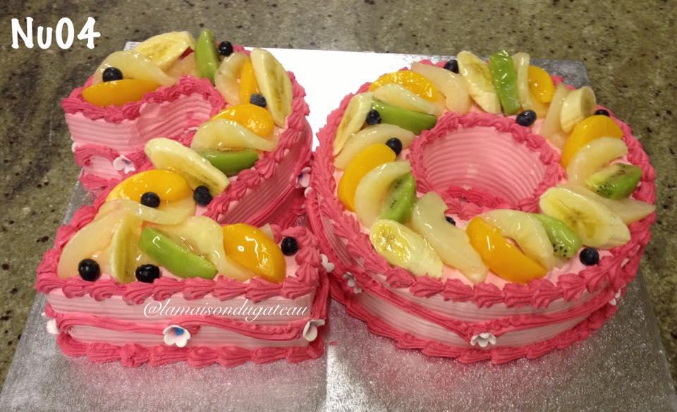 NUM004 - Number Cake
