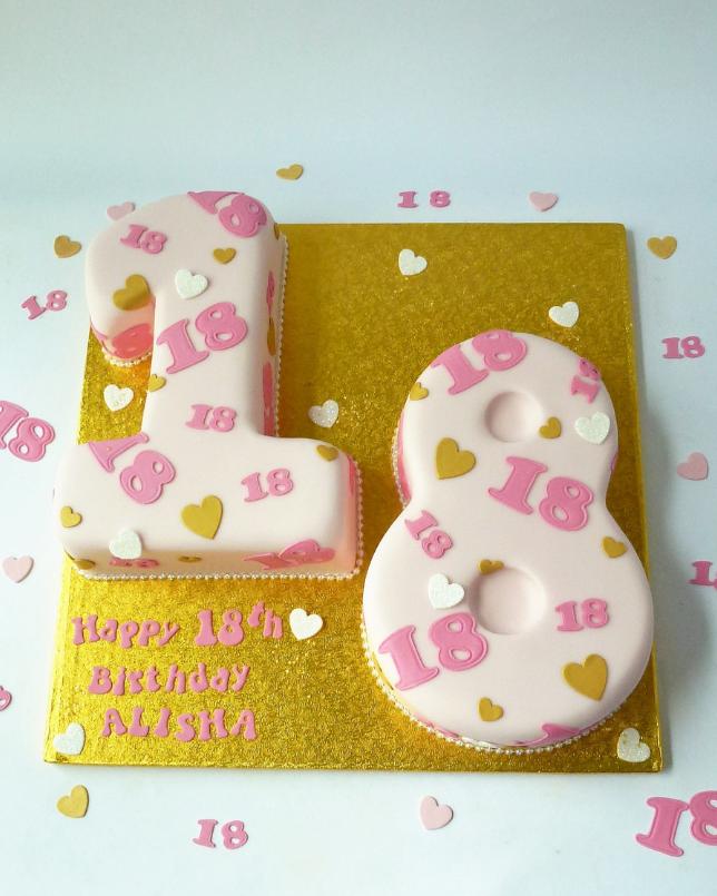 NUM0009 - Number Cake