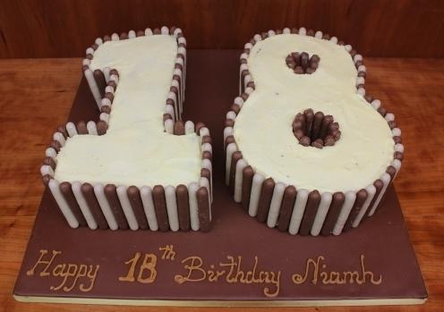 NUM0010 - Number Cake