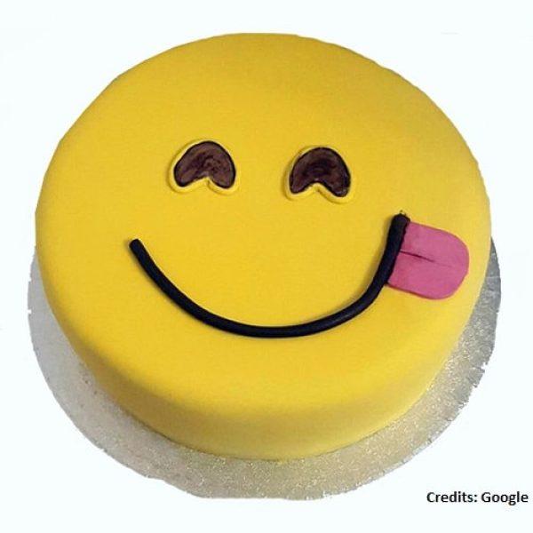 SMY001 - Smiley Cake