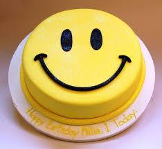 SMY003 - Smiley Cake
