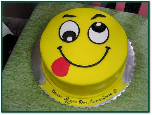 Smy005 Smiley Cake Smiley Cake Cake Delivery In