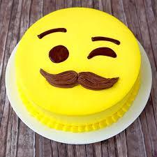 SMY007 - Smiley Cake