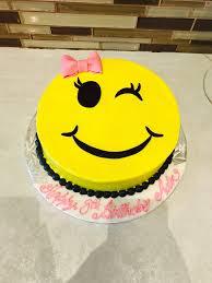 SMY010 - Smiley Cake